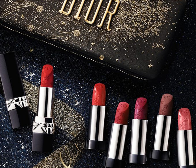 DIOR launches festive limited edition Rouge Dior Couture lipsticks