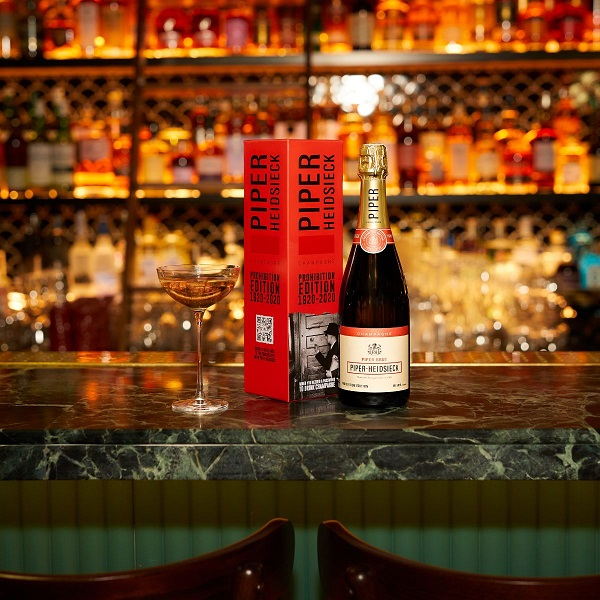Piper-Heidsieck Champagne uncorks a limited-edition Prohibition Edition