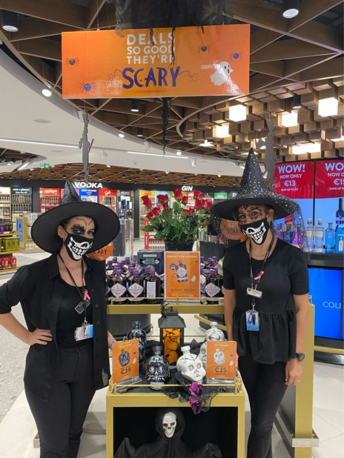 Passengers are in for a (trick or) treat – Aer Rianta duty-free stores stage a global Halloween campaign