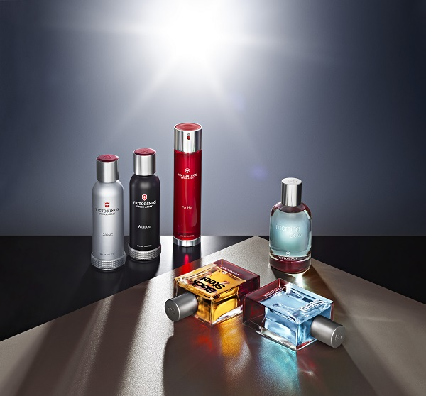 Victorinox unveils newly spiced-up fragrance collection