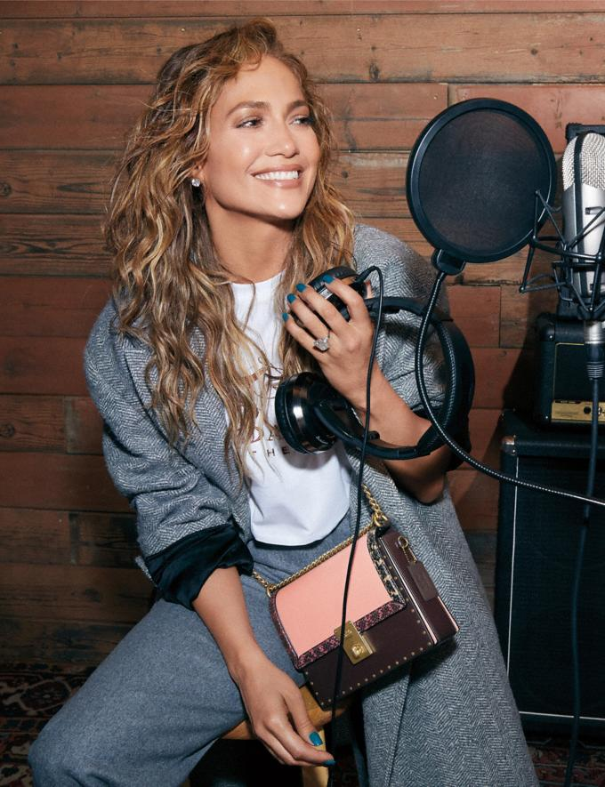 Jennifer Lopez designs her first handbag for Coach