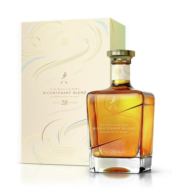 Johnnie Walker Bicentenary blend whisky