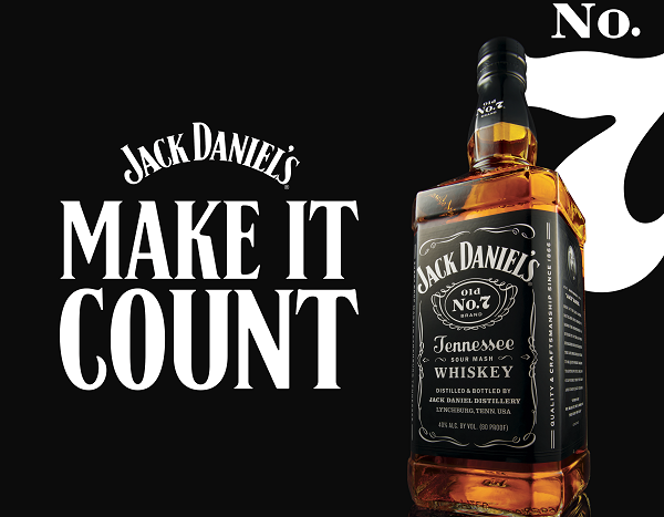 Jack Daniel's launches global campaign to 'Make it Count'