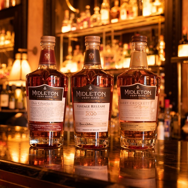 Midleton Very Rare 2020 Irish whiskey set for launch in global duty-free