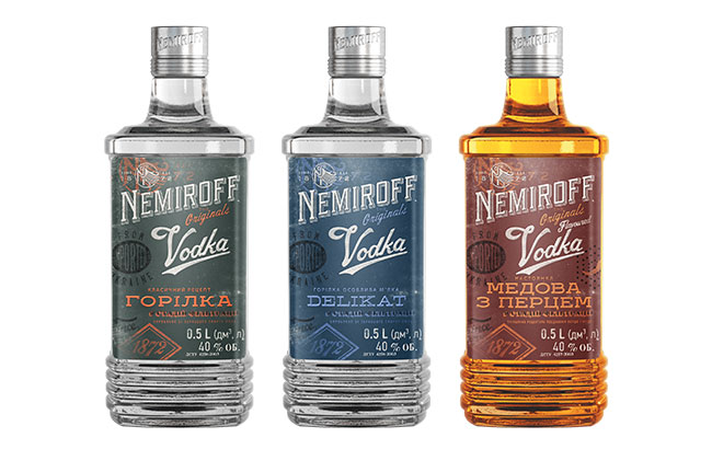 Nemiroff Vodka reveals The Originals with bold new looks