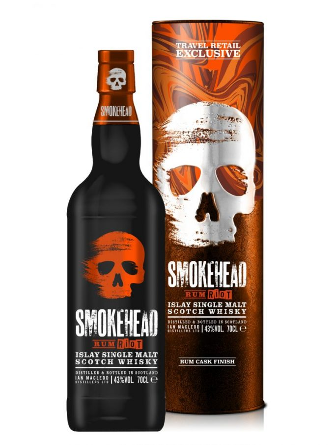 Duty-free exclusive Smokehead Rum Riot whisky hits the shelves at airports