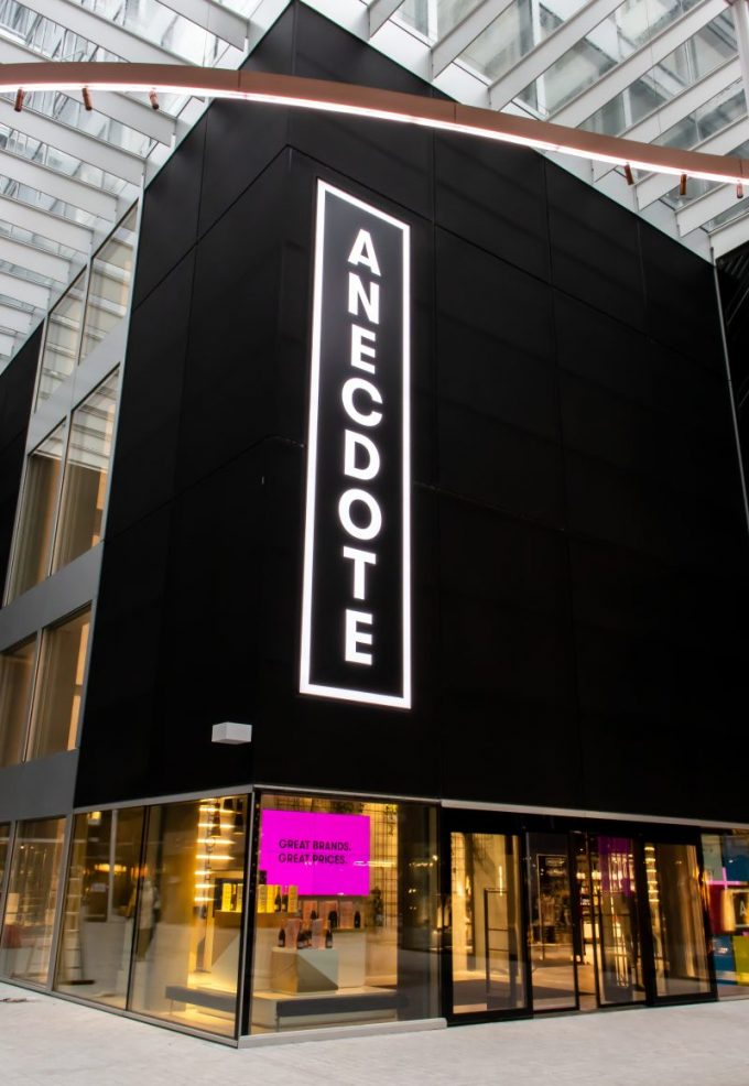 Dufry opens ANECDOTE – a 'brand paradise' store at Zurich Airport