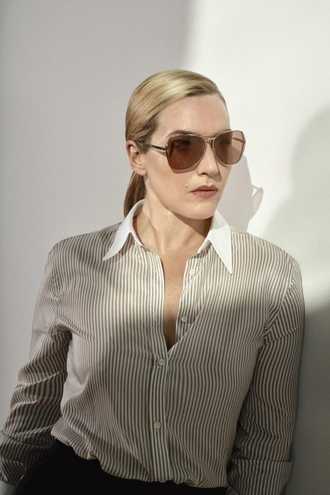 Kate Winslet steps out for new Longines sunglasses line