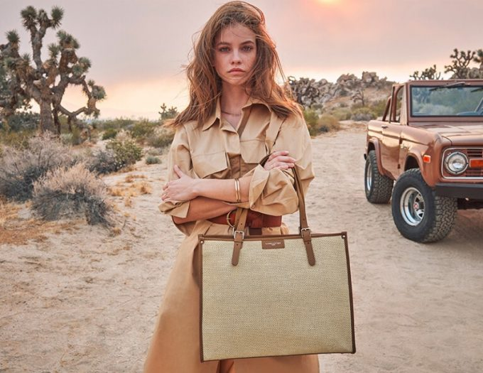 Barbara Palvin fronts new Lancaster Paris campaign