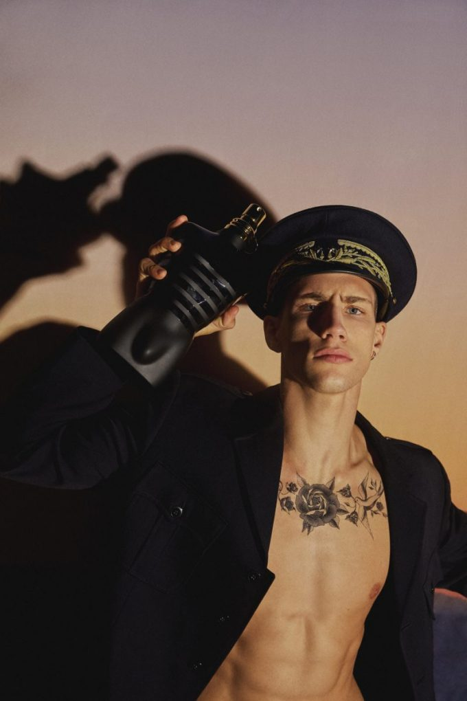 All Aboard! Jean Paul Gaultier sets sail in duty-free with new Le Male Le Parfum edition