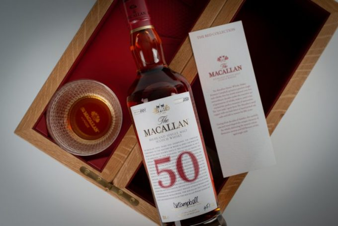 The Macallan Red Collection set for duty-free release in London, Dubai and Taiwan