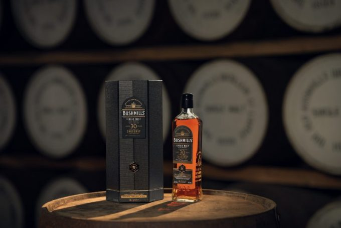 Forged in the footsteps of giants: Bushmills reveals duty-free exclusive 30yo single malt