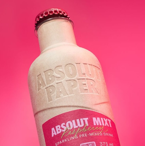Not just an idea on paper – ABSOLUT introduces its Paper Bottle