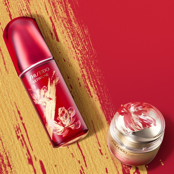 Celebrate new beginnings as Shiseido's Lunar New Year Collection arrives in duty-free