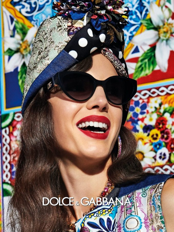 Dolce & Gabbana reveals glamourous new Spring/Summer sunglasses