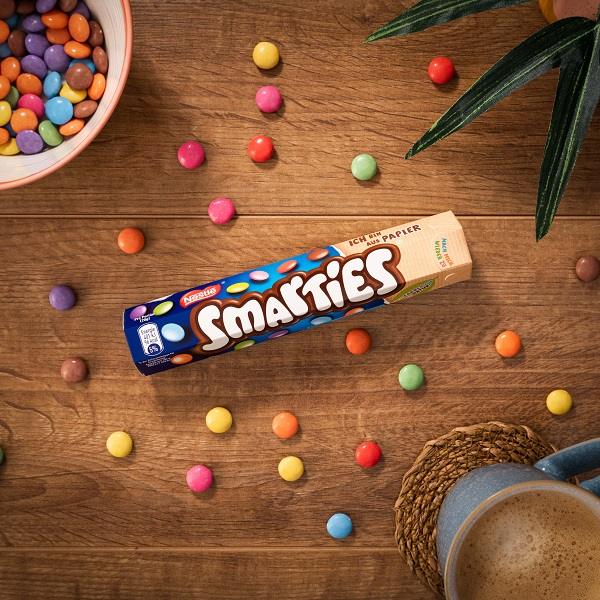 Smarties in global first as brand switches to recyclable paper packaging