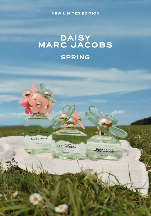 🌼 Daisy Marc Jacobs unveils three new Spring limited edition scents 🌼