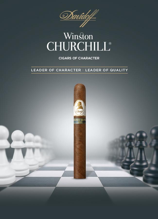 Davidoff extends Winston Churchill range with limited edition Toro cigar
