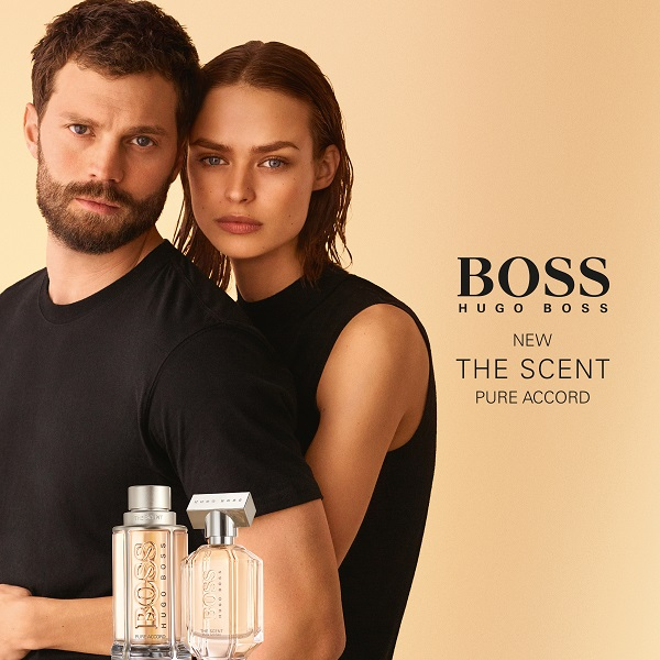 BOSS launches a fresh, new duo of its The Scent fragrances