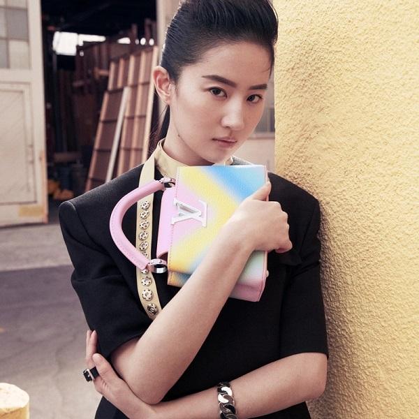 Mulan star Liu Yifei joins Louis Vuitton's line up in China