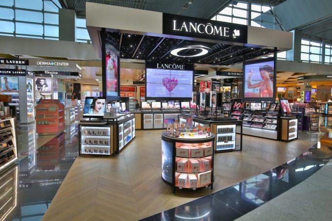 Lancôme opens huge beauty flagship at São Paulo Airport