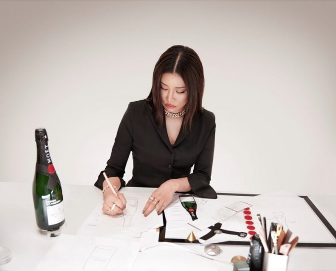Moët & Chandon x AMBUSH release limited-edition Impérial bottles