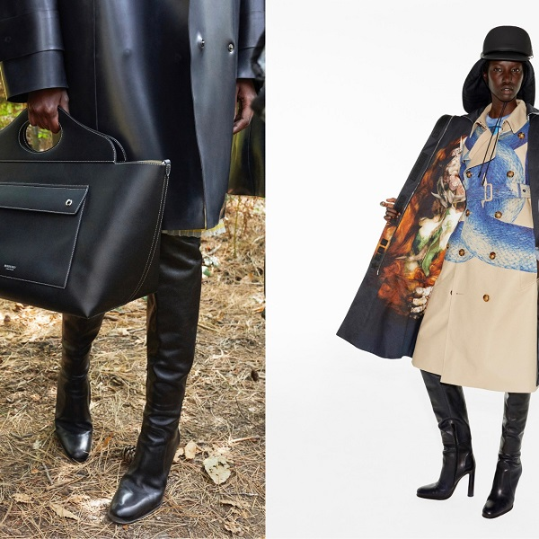 Burberry steps inside and out in Spring/Summer 2021 campaign