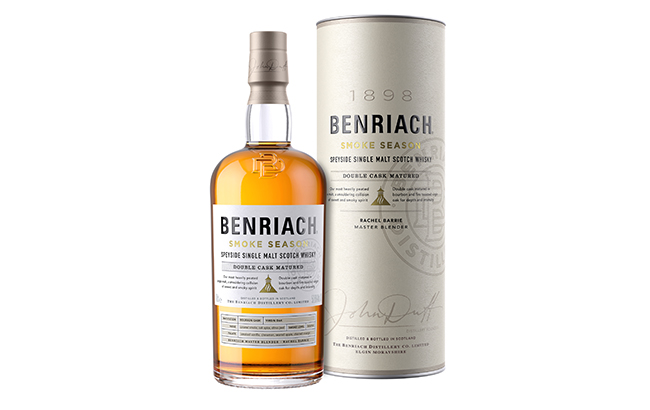 Benriach unveils its 'most intensely smoked' single malt, Smoke Season