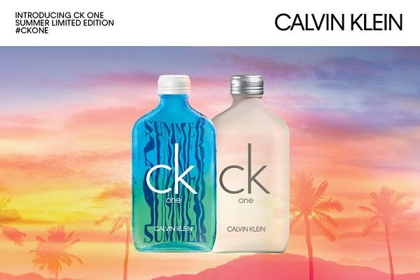 Calvin Klein unveils technicolour CK ONE Summer edition