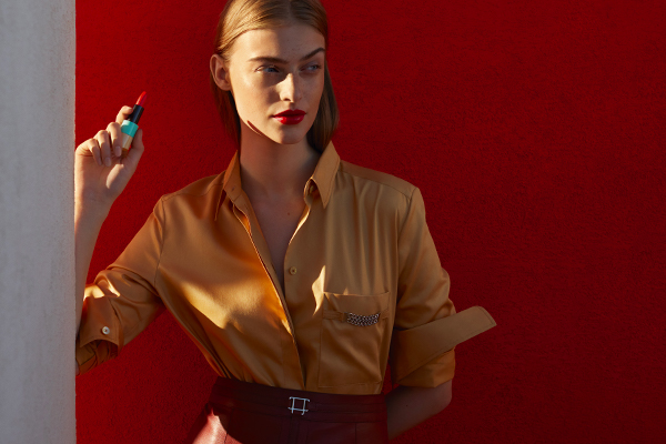 For one season only... Hermès debuts Rouge SS21 limited-edition lipsticks