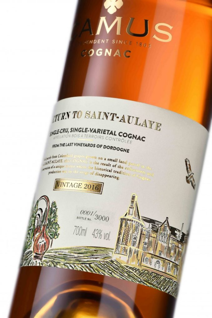 Camus reveals limited-edition, small-batch Cognac 'Return to Saint-Aulaye'