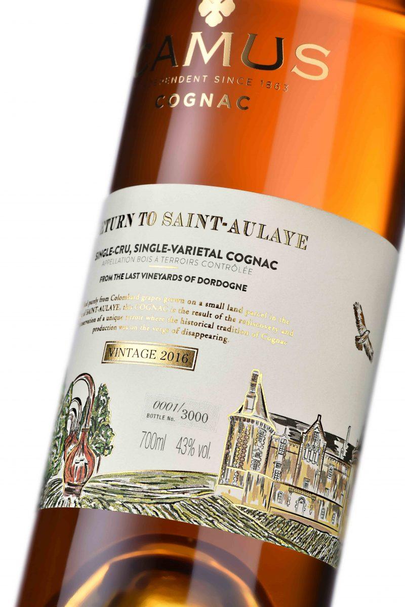 Camus reveals limited-edition, small-batch Cognac 'Return to Saint-Aulaye'