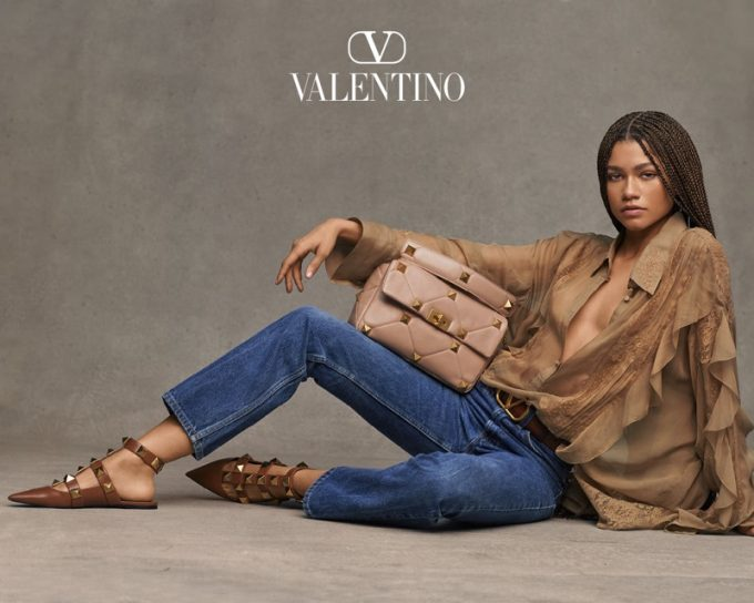 Zendaya is the face of the Valentino Collezione Milano Campaign