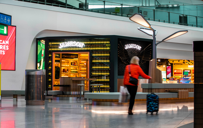 Jameson opens Taste House at Dublin Airport's The Loop duty free