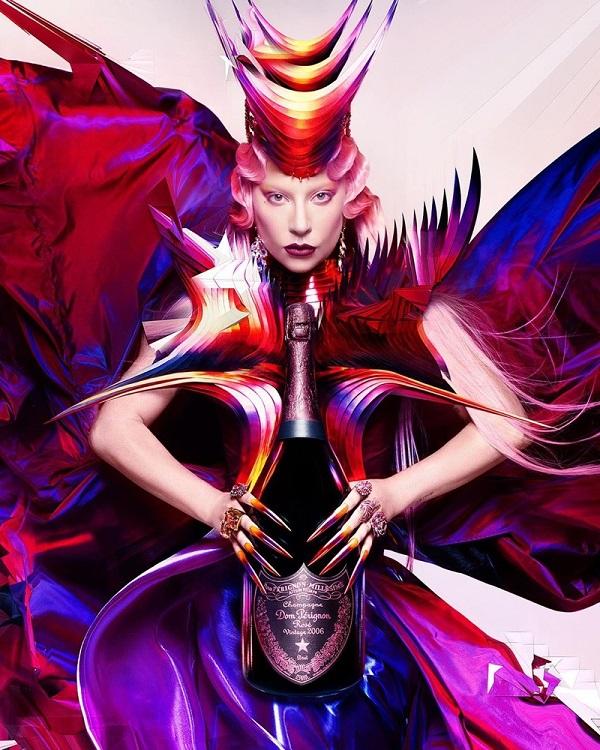 Lady Gaga and Dom Pérignon unveil collaboration 'The Queendom'