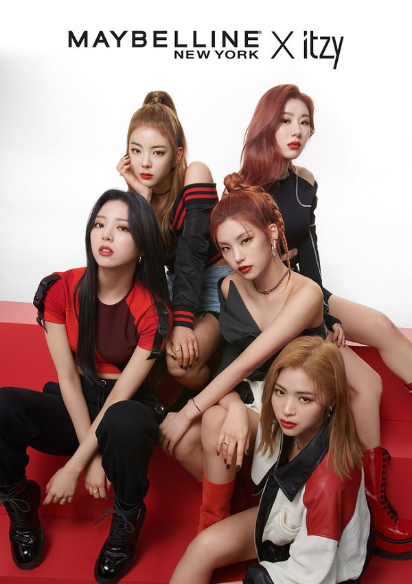 Maybelline taps K-pop's ITZY as global spokesmodels