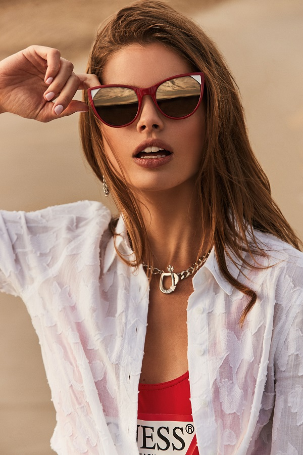 GUESS unveils duty-free exclusive cat-eye sunglasses