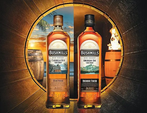 Bushmills releases first two expressions in its new cask-finished range