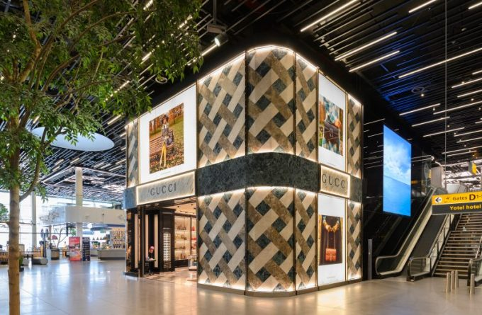 GUCCI opens a 'cabinet of curiosities' with new store at Amsterdam Airport Schiphol