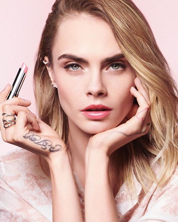 Dior Addict Lip Glow launches new season shades with Cara Delevingne