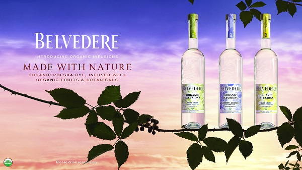 Belvedere Vodka launches new expressions – Belvedere Organic Infusions