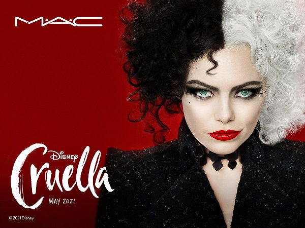 Rebellious, glamorous and undeniably fabulous – MAC releases The Disney Cruella makeup collection