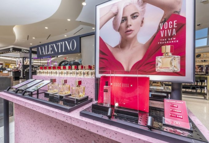 Valentino finds its voice as global first Beauty Flagship opens at New York's JFK Airport