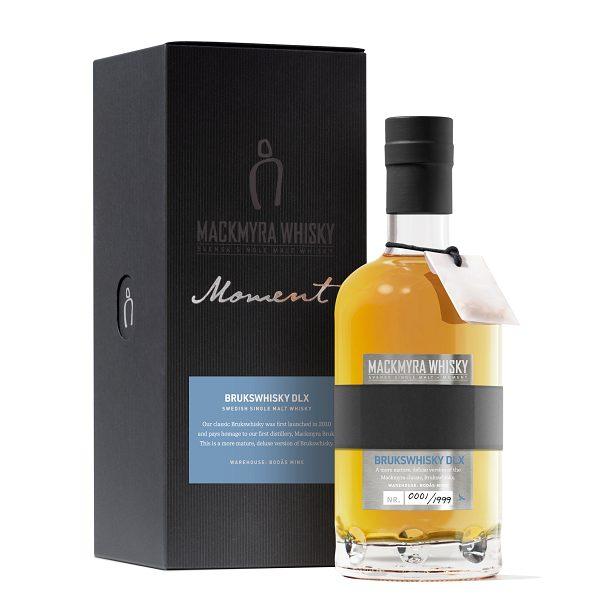Mackmyra reveals limited edition deluxe single malt – Moment Brukswhisky DLX