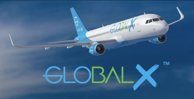 GlobalX Airlines signs with 3Sixty Duty Free for inflight retail