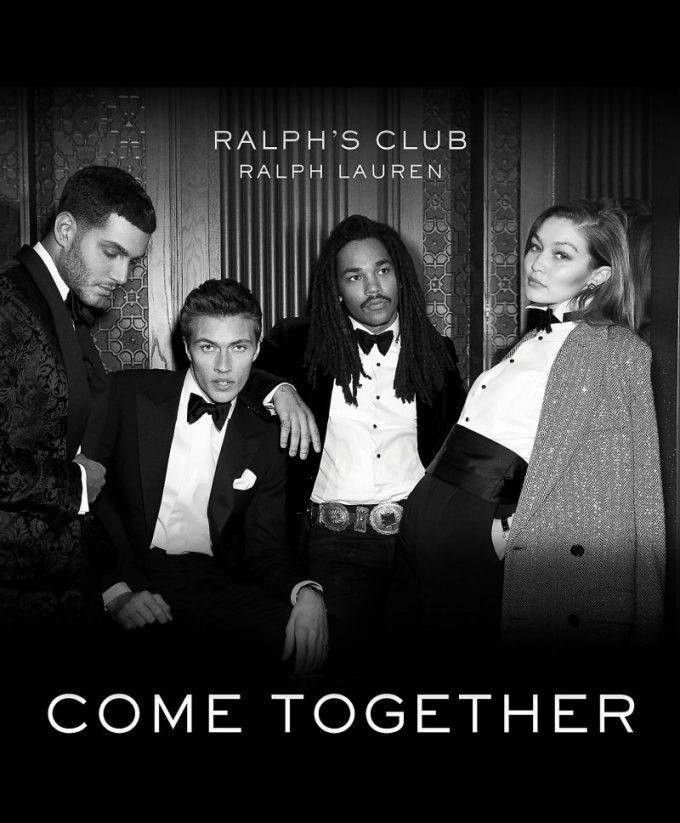 Welcome to Ralph's Club: Ralph Lauren unveils new men's fragrance with Gigi Hadid