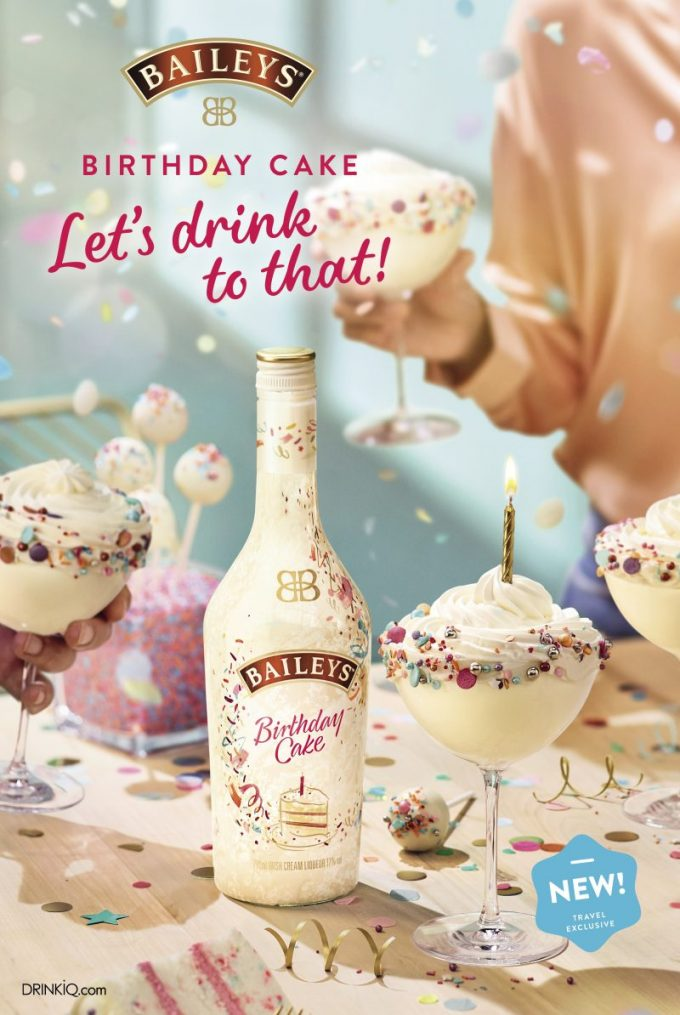 Baileys reveals Birthday Cake edition as duty-free exclusive 🎂