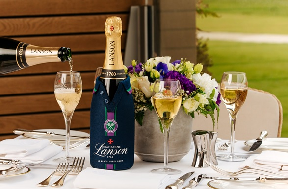 Lanson reveals limited-edition bottles to celebrate The Championships, Wimbledon