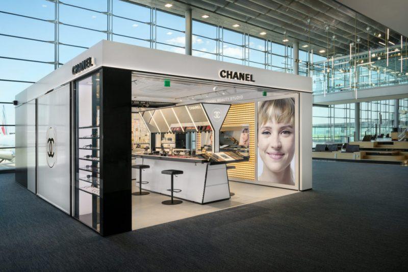 Chanel lands new Beauty Studio at Paris CDG Airport