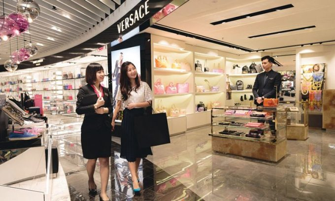 Singapore's Changi Airport celebrates its 40th anniversary with shopping deals